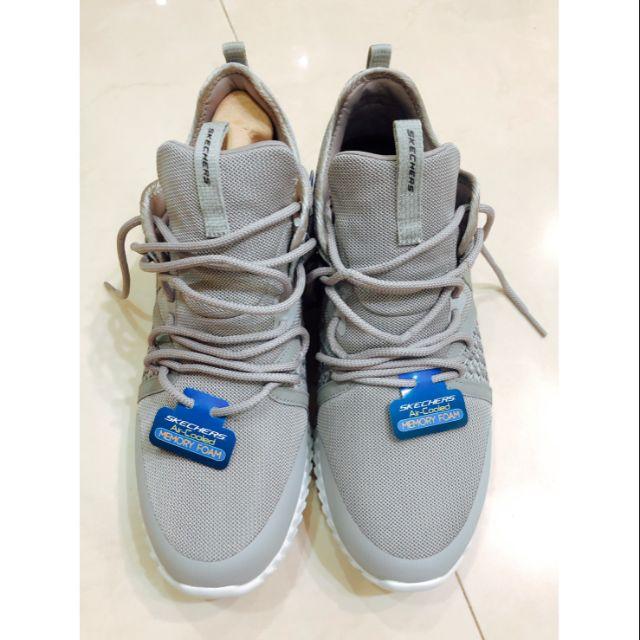 【全新】SKECHERS 男 休閒運動鞋 ELITE FLEX (52873GRY) 灰 28cm