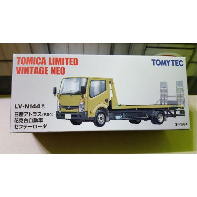 TOMICA TOMYTEC TLV LV-N144 金色 花見台 花見臺 拖車 1/64