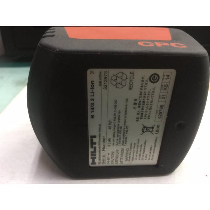 【合眾五金】『含稅』HILTI SID 14A 14.4V3.3AH電池 滑軌式 (全新) SID 14-a 起子機用