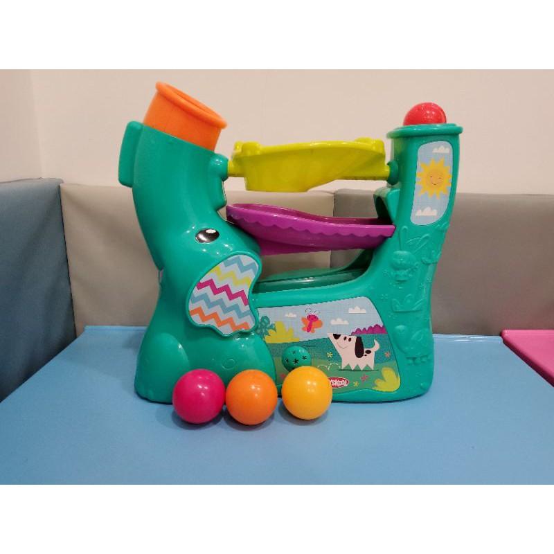 [二手玩具]兒樂寶Playskool可攜式大象玩球遊戲組