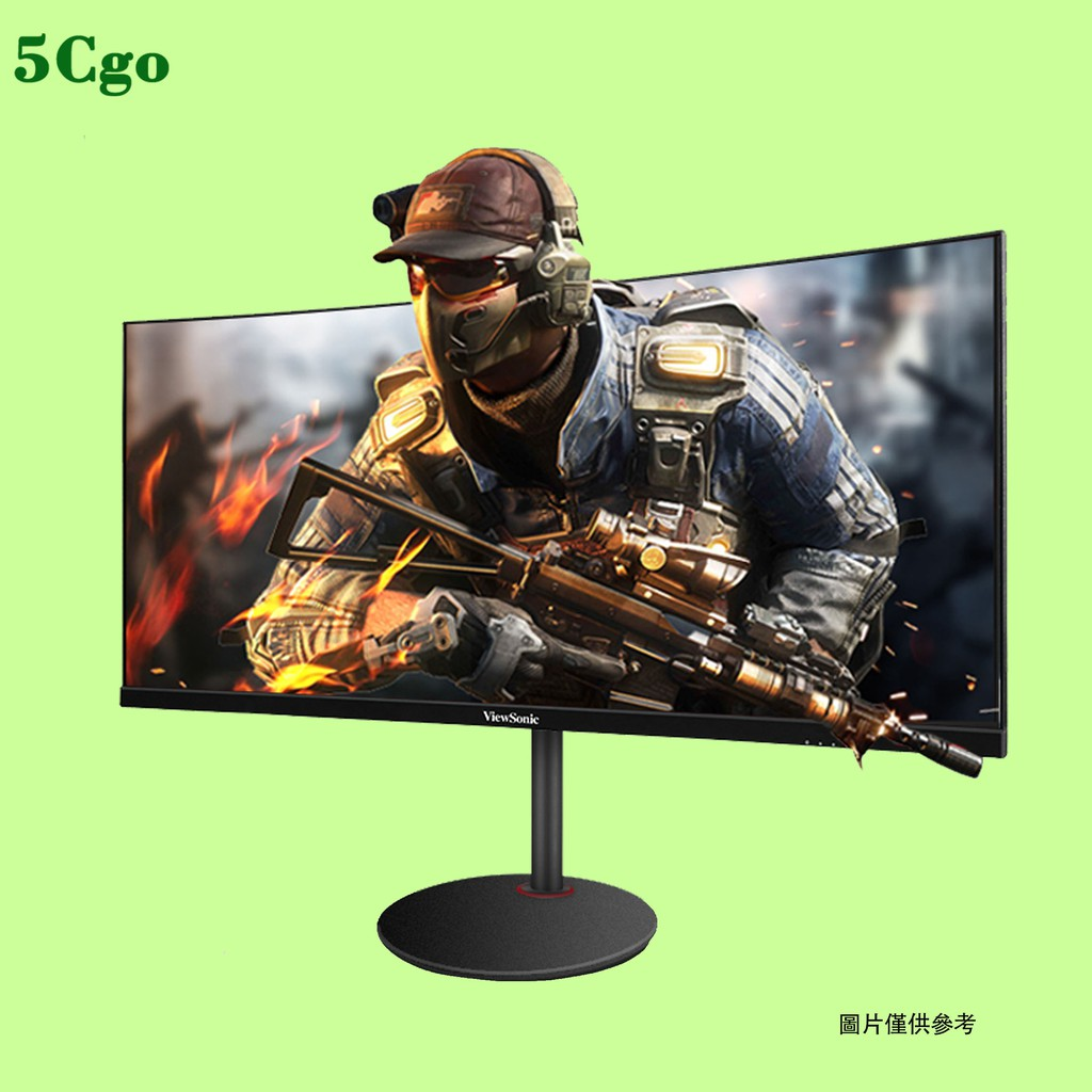 5Cgo【含稅】優派21:9魚屏144hz曲面2K寬屏RGB30英吋電競顯示器VX3015曲屏200hz遊戲電腦桌上型