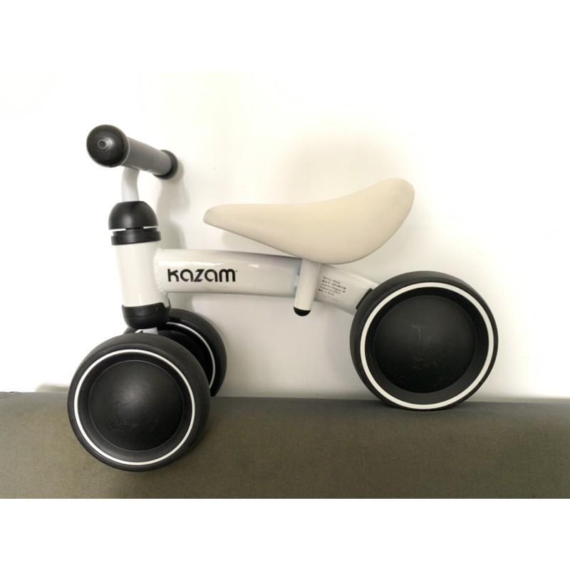 二手/美國Kazam mini寶寶滑步車白色