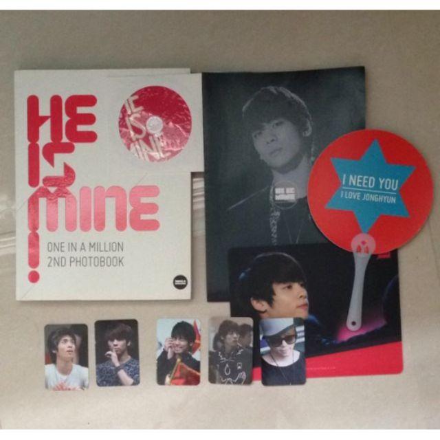 SHINee 鐘鉉 韓站 寫真+特典 OIAM He is mine
