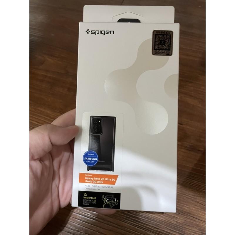 Spigen Galaxy Note20 Ultra Neo Hybrid CC-防摔保護殼/黑色/二手近全新