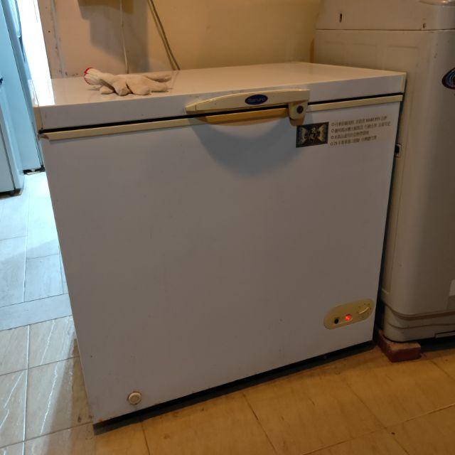二手,臥式上掀冰庫營業用餐飲業餐廳冷凍櫃冰櫃冰箱儲存生鮮