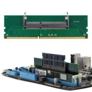 DDR3筆記本電腦SO-DIMM至台式機DIMM內存RAM連接器適配器1.5V G0K4