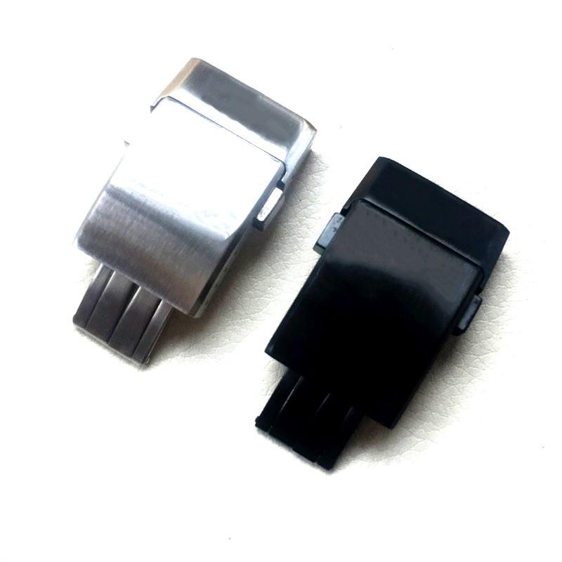 【錶帶配件】適用Breitling 百年靈手表扣1884精鋼硅膠橡膠表帶折疊扣20mm磨砂