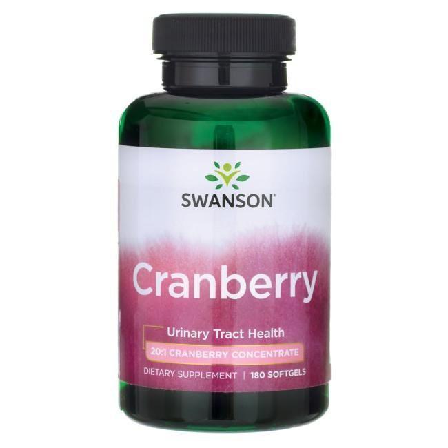【陽光小鋪】Swanson 新款 蔓越莓 Cranberry 800 mg 180粒