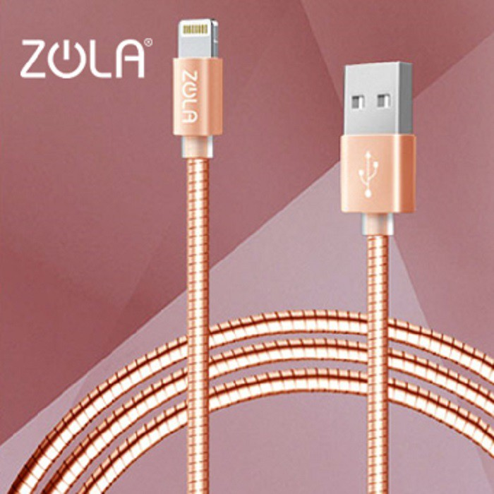ZOLA Zpiral Lightning 傳輸線(1M)