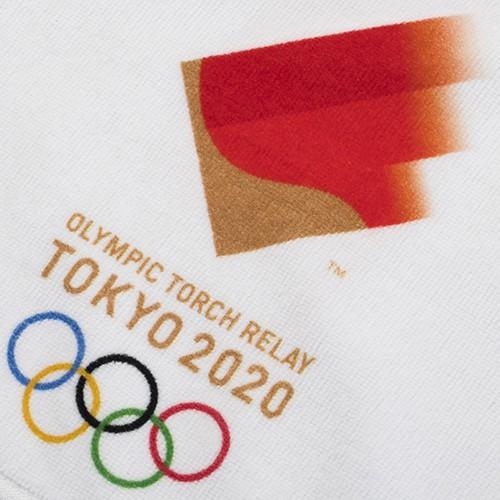 日本東京奧運 東奧 TOKYO 2020 官方限定商品 紀念品系列東京奧運 聖火傳遞毛巾手巾