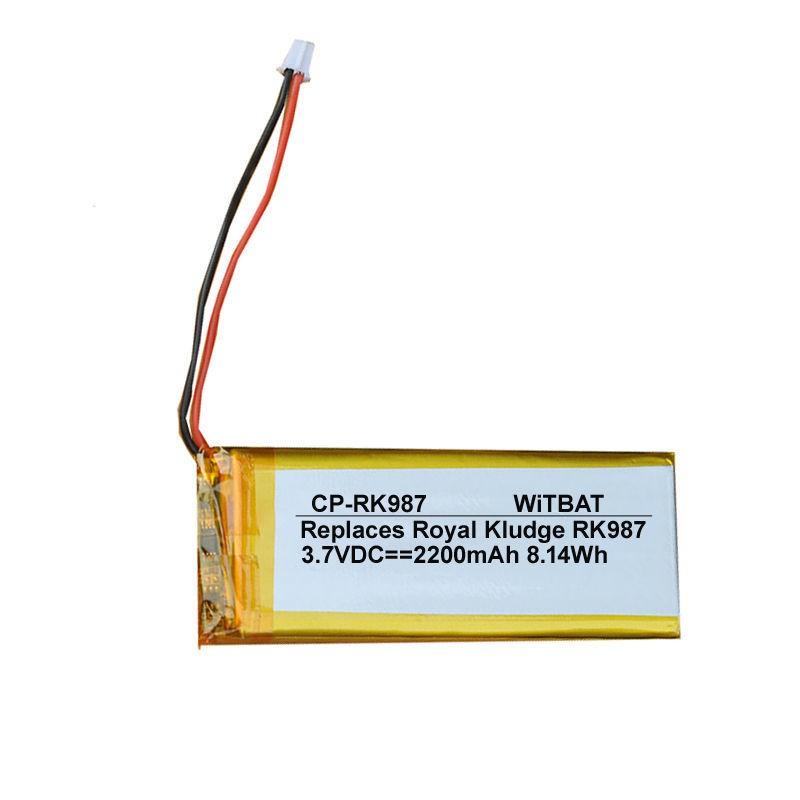 電池 適用Royal Kludge RK987無線藍牙鍵盤電池