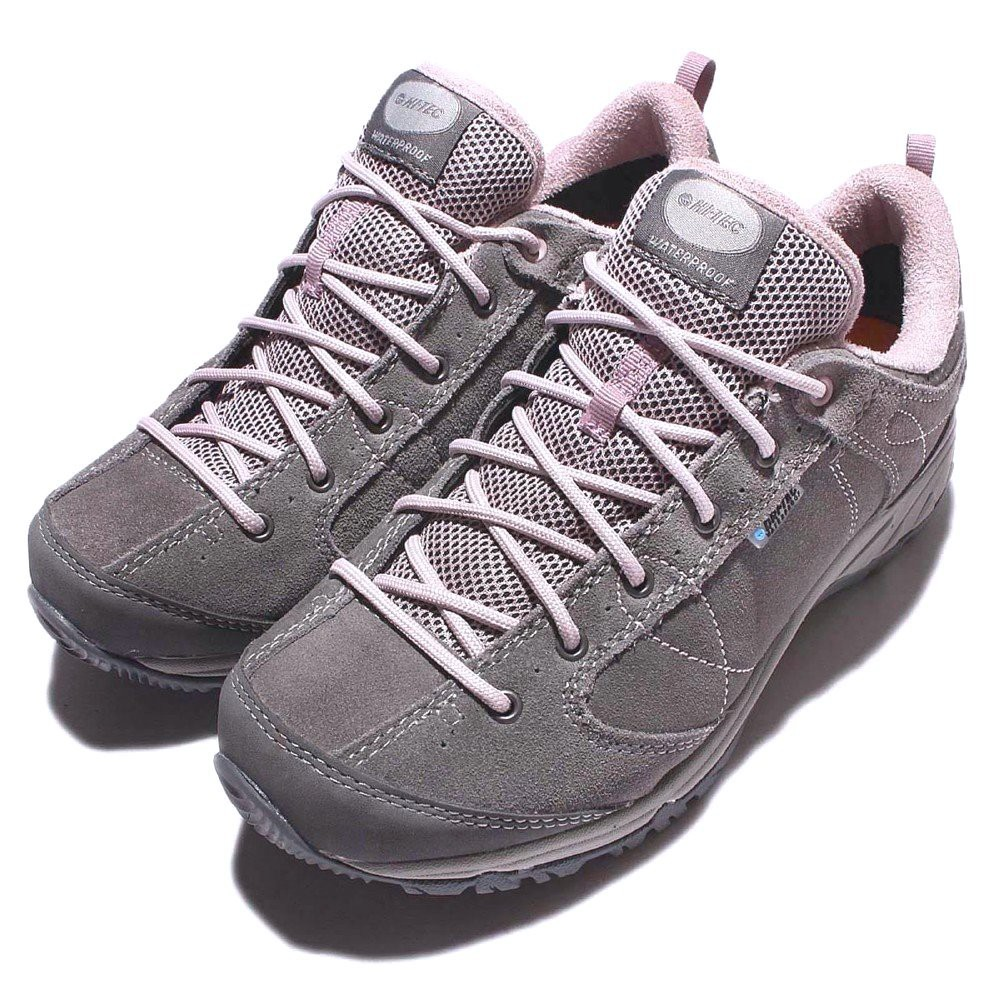 CodEX= HI-TEC EQUILIBRIO BELLINI LOW WP 防水麂皮戶外登山鞋(灰) 健行 英國 女