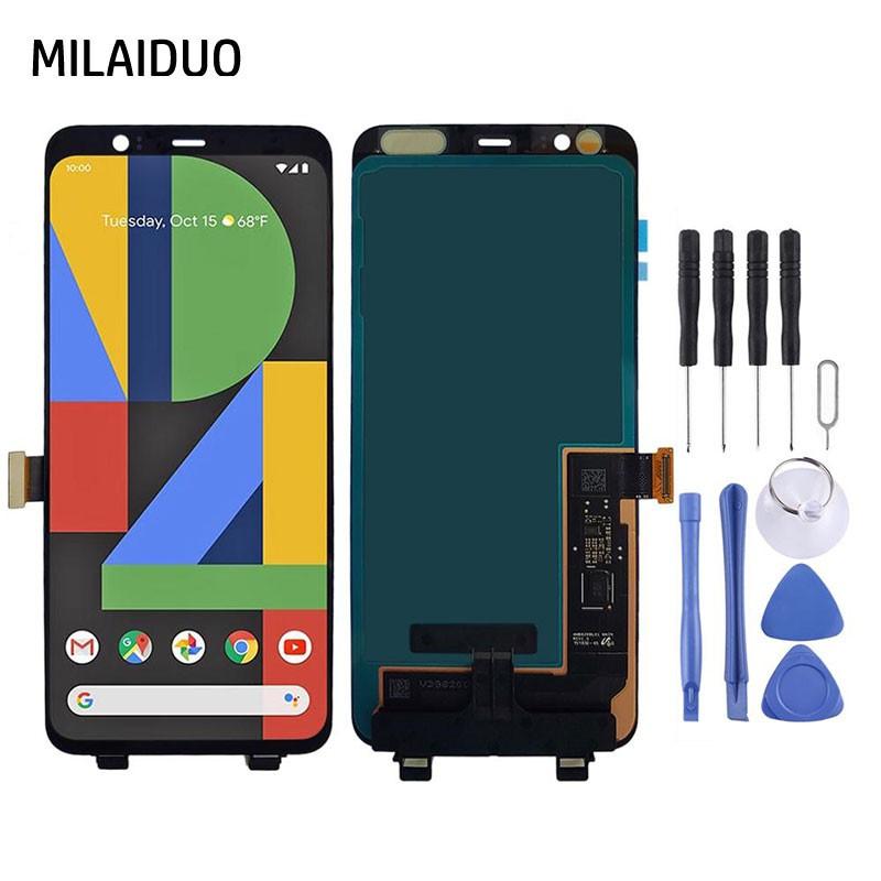 原廠手機螢幕總成適用於HTC Google Pixel 4 Pixel 4 XL LCD触摸屏