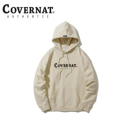 [COVERNAT] 21春夏 Authentic logo 連帽上衣(奶油色)