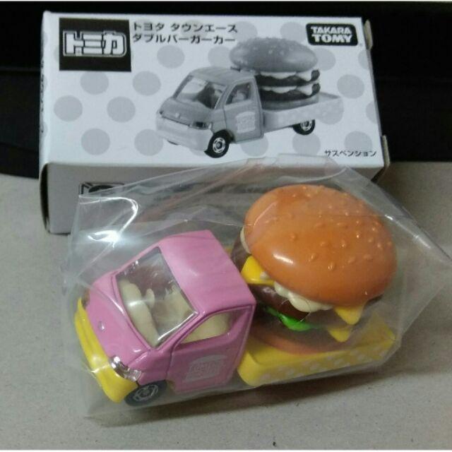 全新 TOMICA 限定 非賣品 粉紅 漢堡車 (粉色)