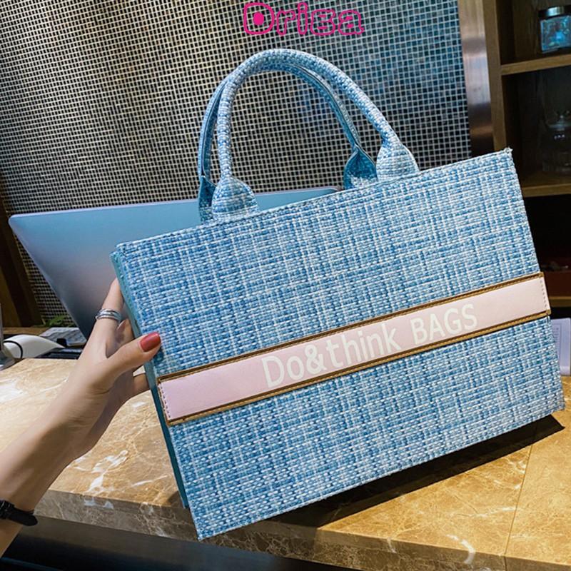 Driga大容量女士包包2020新款潮時尚流行單肩包百搭ins手提包托特包