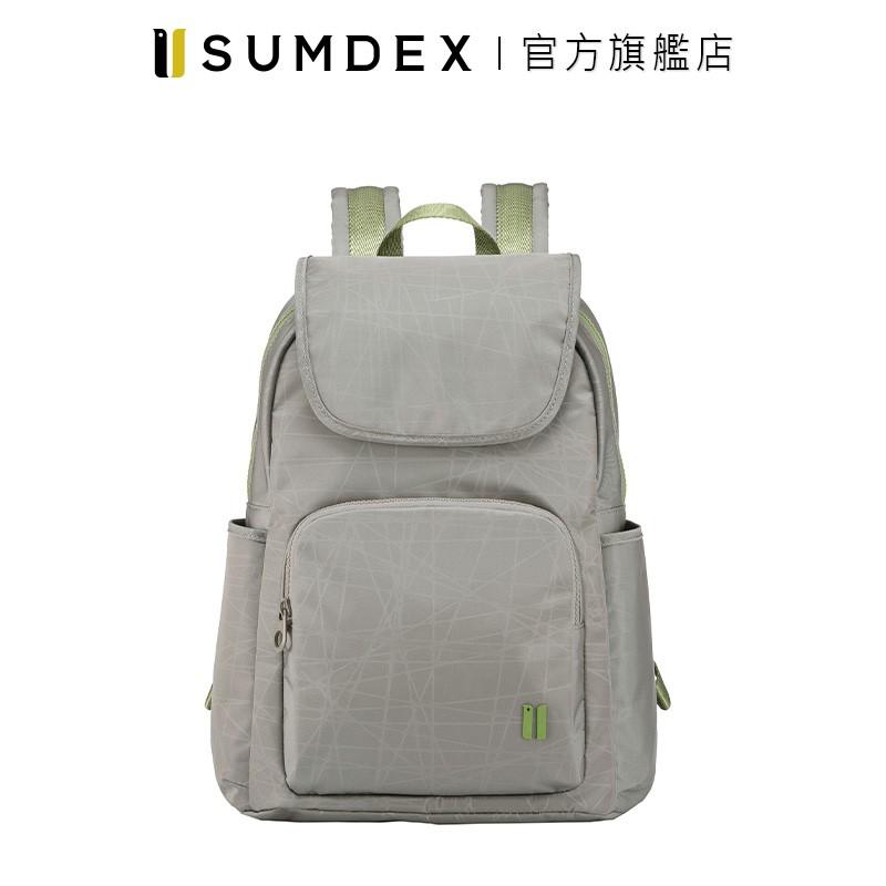 Sumdex 樂.遊 輕旅防盜後背包 NOD-630FG 灰色 官方旗艦店