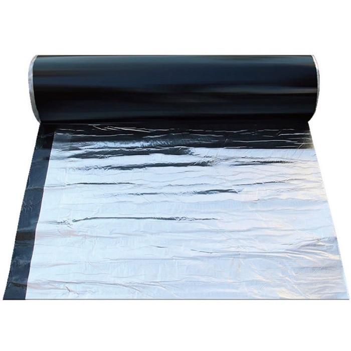 自黏式隔熱防水瀝青 瀝青膠帶 屋面隔熱防水膠帶 鋁箔瀝青 自黏瀝青NF439鐵皮屋 屋頂 破洞 防漏 補孔 漏水1026