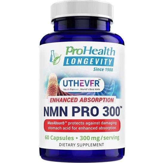 「現貨+預購」ProHealth Longevity NMN Pro 300。亞馬遜最大廠品牌美國原裝NAD+