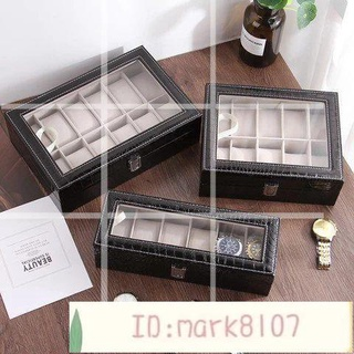 高檔pu皮質手錶盒表用搖表器男女自動機械手表收納盒子上鏈器表盒轉表器晃表器虧ins卡通家居裝飾禮物創意 桃園市