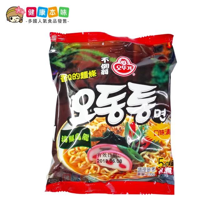 韓國OTTOGI不倒翁海鮮烏龍麵120g
