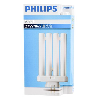 【優選照明】 PHILIPS飛利浦 PL-F 27W 865 冷白光 840 白色4P 緊密型燈管 檯燈燈管 台北市