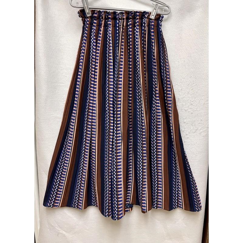 全新鬆緊褲頭寬版褲裙