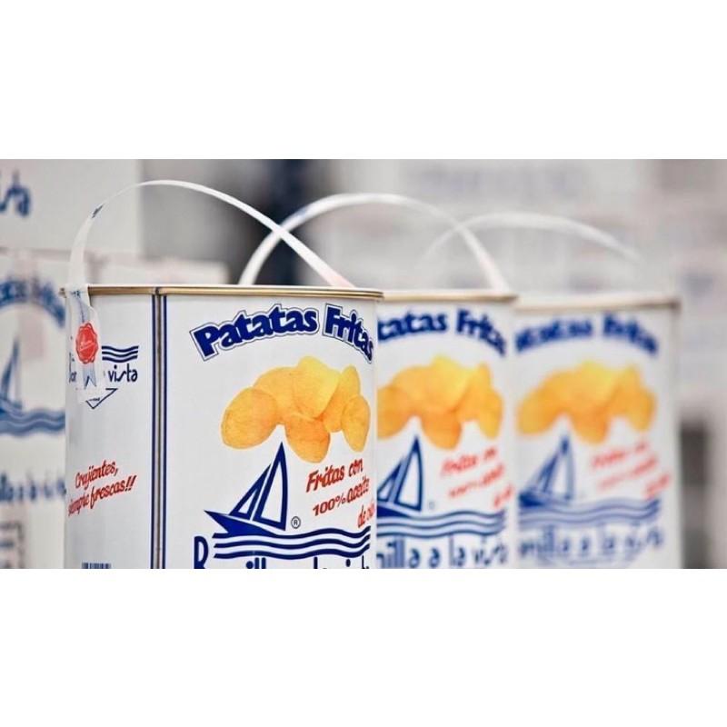 西班牙 Bonilla a la vista 油漆桶海鹽洋芋片-275g