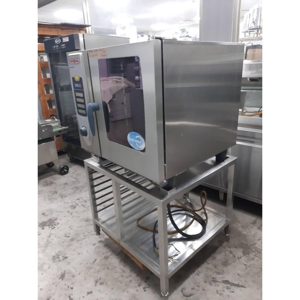 達慶餐飲設備 八里展示倉庫 二手商品(9成新) 德國進口Rational SCC61萬能蒸烤箱