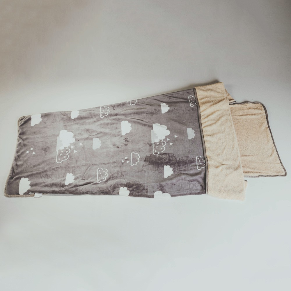 絲薇諾 (朵朵)法蘭羊羔絨睡袋毯(1.3kg)