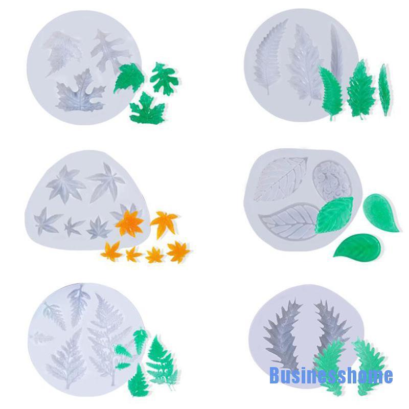 [Businesshome] 矽膠楓葉模具 Diy 手工飾品工藝裝飾樹脂模具工具