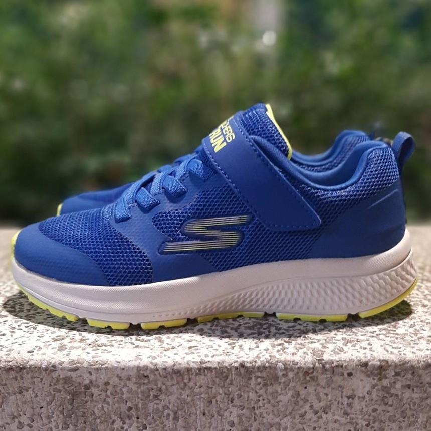 SKECHERS童鞋 魔鬼氈 大童鞋 可水洗 運動鞋 慢跑鞋 405016LBLLM 現貨 5月