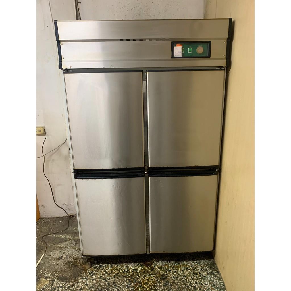 二手 營業用 不銹鋼四門冰箱