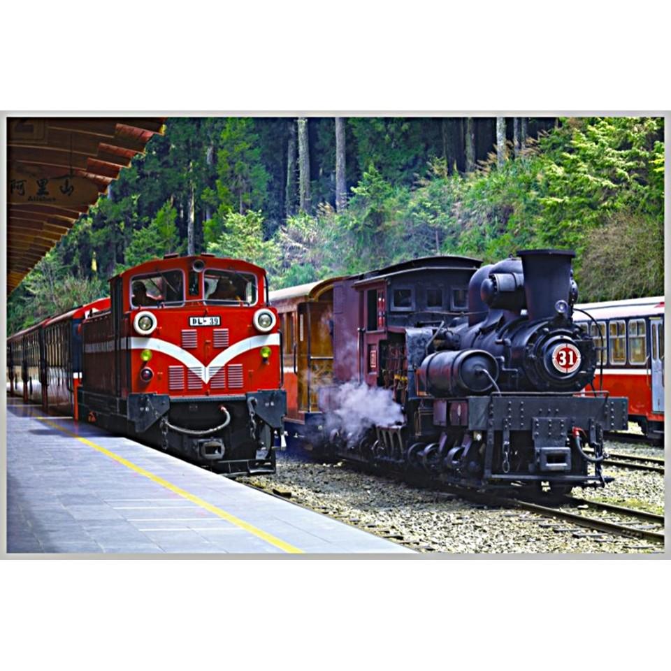台灣之美1000片拼圖/嘉義-阿里山森林鐵路