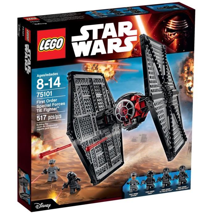 """  高雄 宅媽 樂高 積木   LEGO""""75101""""First Order TIE fighter 有脫膠"""