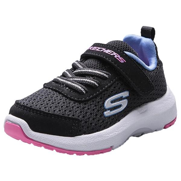 SKECHERS 【81365NBKMT】小童鞋 HOP NHIKE運動鞋 慢跑鞋 黏帶 黑粉紫