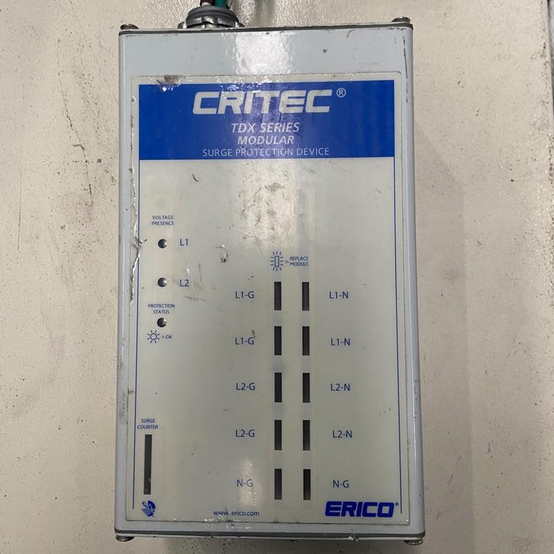 中古 ERICO 電力突波保護器 TDX200M,售價:$1200
