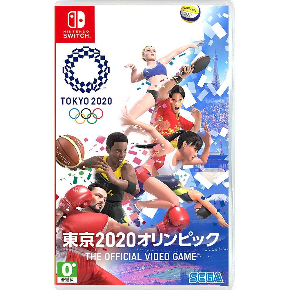 [現貨] 任天堂NS Switch 2020 東京奧運 THE OFFICIAL VIDEO GAME–中文版