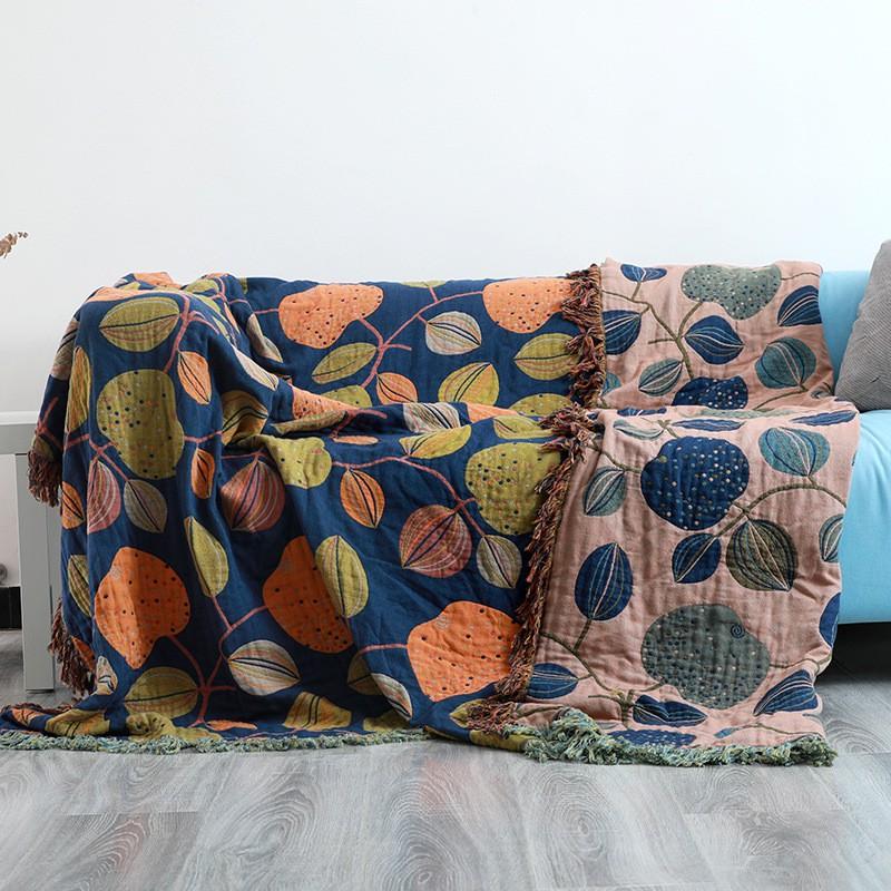 【新品現貨】純棉沙發套罩巾全包萬能套四季通用防滑蓋布蓋毯北歐簡約沙發墊