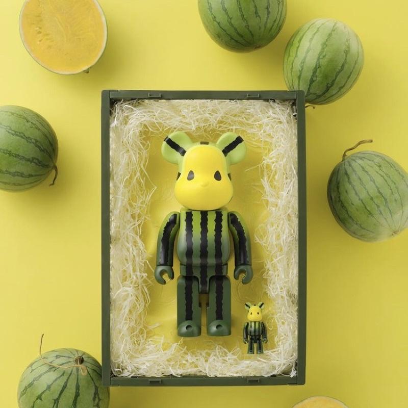 第二彈 Bearbrick 西瓜 草莓 1000%+400%+100% 庫伯力克熊 CLOT 陳冠希 Be@rbrick