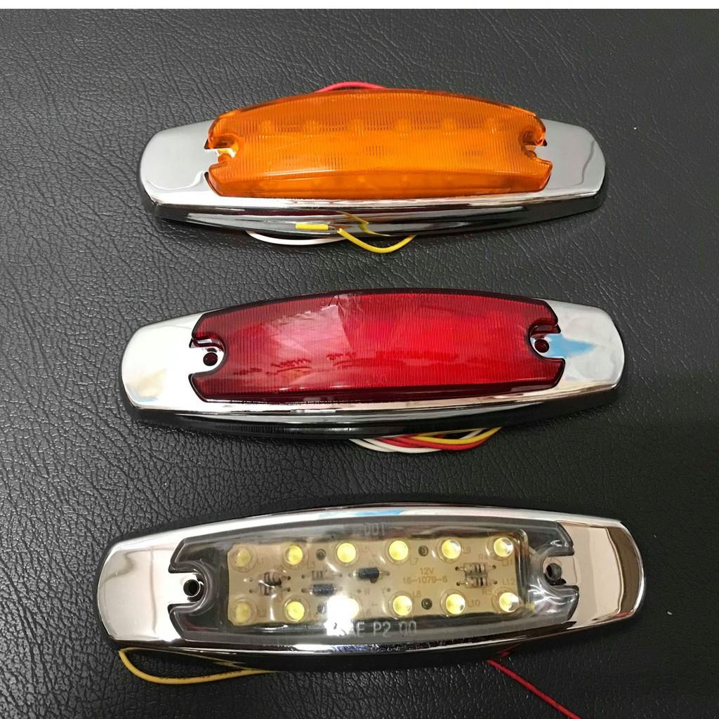 Ko Ma 12V&24V12顆LED燈 大燈 後燈 邊燈 方向燈 屋頂燈 標識燈 遊覽車 巴士 公車 貨車 吊車拖吊車