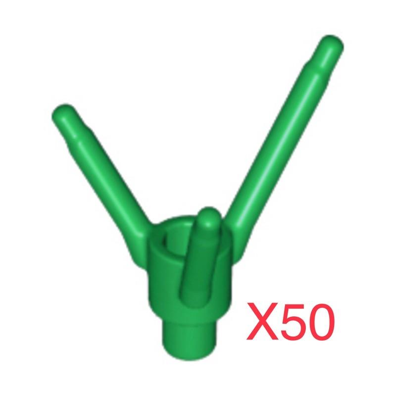 [妞仔玩樂高]現貨 LEGO 24855 樹枝 花莖 草 花圃 可搭配樹屋 21318