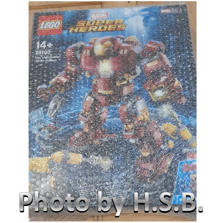 LEGO 樂高  76105 The Hulkbuster: Ultron Edition 浩克毀滅者 奧創紀元版