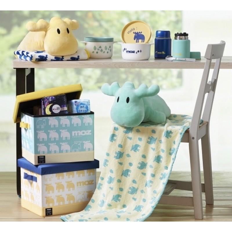 全聯換購 MOZ日用品積分樂 A4收納箱凳/真空附匙悶燒罐/玩偶毛毯組/陶瓷盤碗組