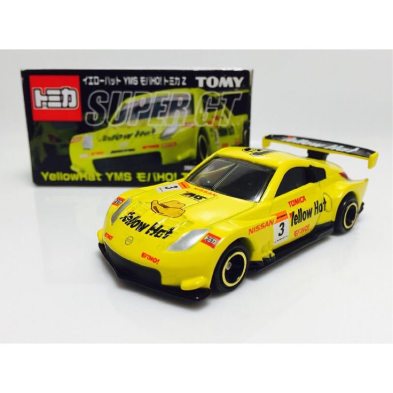 ☆♡星綺寶寶♡☆TOMICA 現貨 2007年 SUPER GT YellowHat YMS 350Z 寬體賽車 黃帽