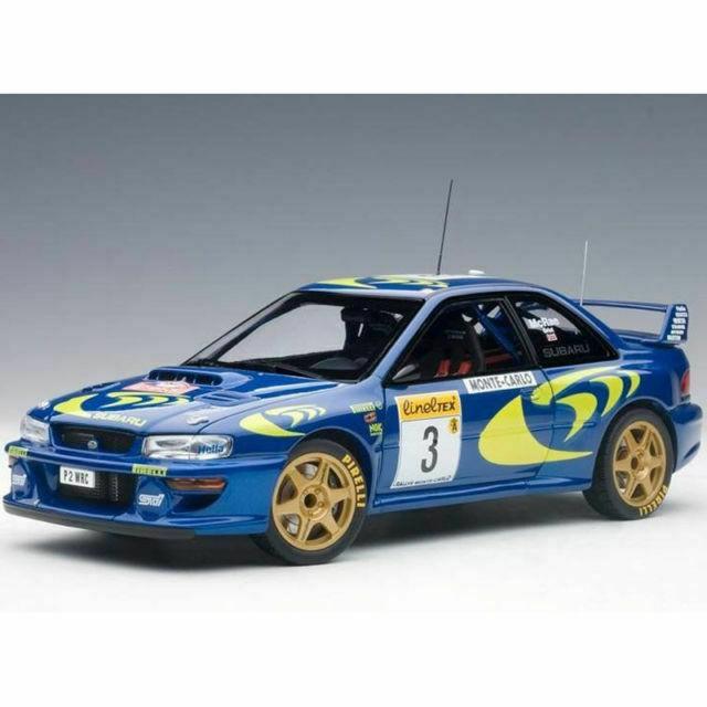 【名車館】AUTOart 89790 Subaru Impreza WRC 1997 #3 Rally 1/18