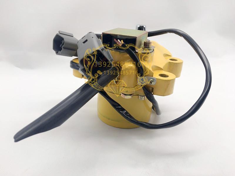 挖掘机配件小松 PC130-7油门马达PC120/200/210/220/300-5油门电机