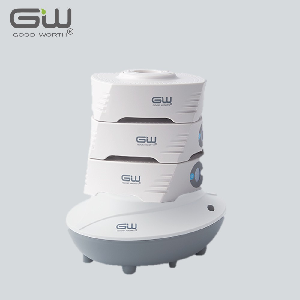 【GW 水玻璃】疊疊樂分離式除濕機二件組 (含還原座)
