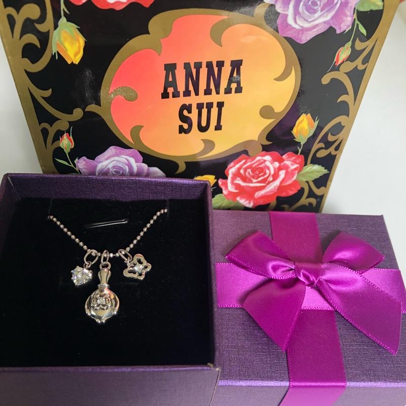 ANNA SUI 夢幻魔鏡純銀項鍊