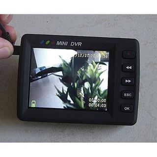 錄影筆 可遙控  搖控啟動 鈕扣針孔 CCD鏡頭攝影機2.5吋DVR監視器行車紀錄器#15918